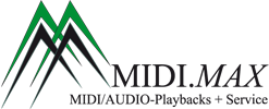 MIDI.MAX | Midi- & Audio-Playbacks für Cover-Bands & Solo-Künstler